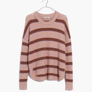 Madewell Westlake Striped Pullover Sweater in Yarn